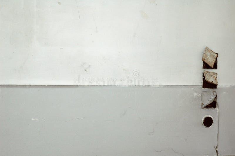 Weißer Wandhintergrund lizenzfreies stockbild