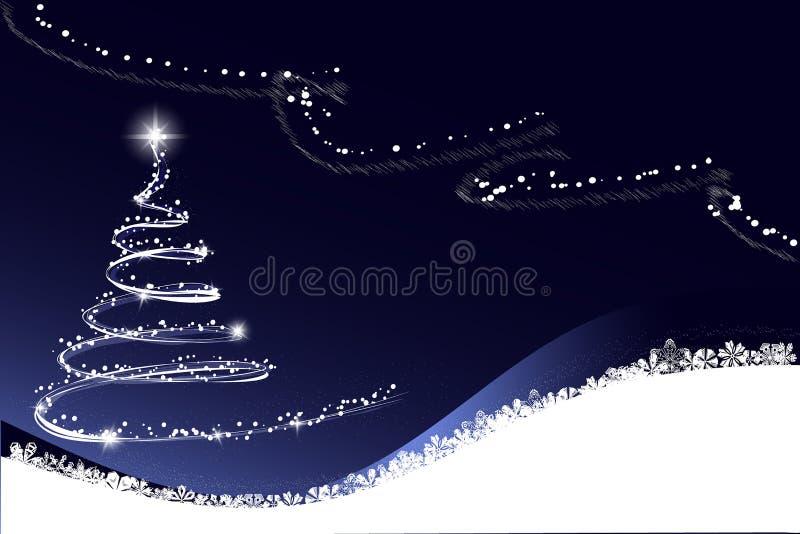 Weißer Weihnachtsbaum stockfotos