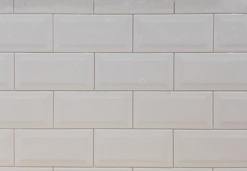 Weißer Ziegelsteinwandhintergrund, abstrakt lizenzfreies stockbild