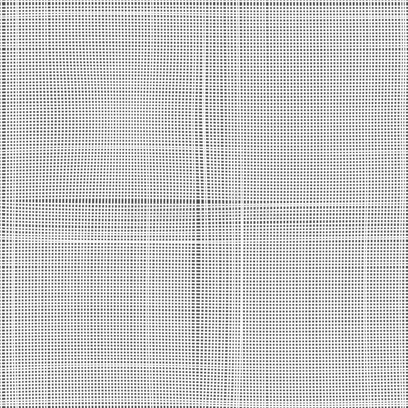 Weißes als Hintergrund, Beschaffenheit, Maske oder Stoß zu verwenden Segeltuch, Nahtloses vektormuster Hellgraue Gewebebeschaffen vektor abbildung