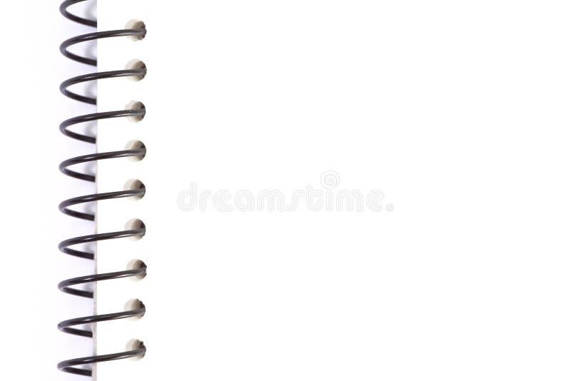Weißes Anmerkungspapier stockfoto