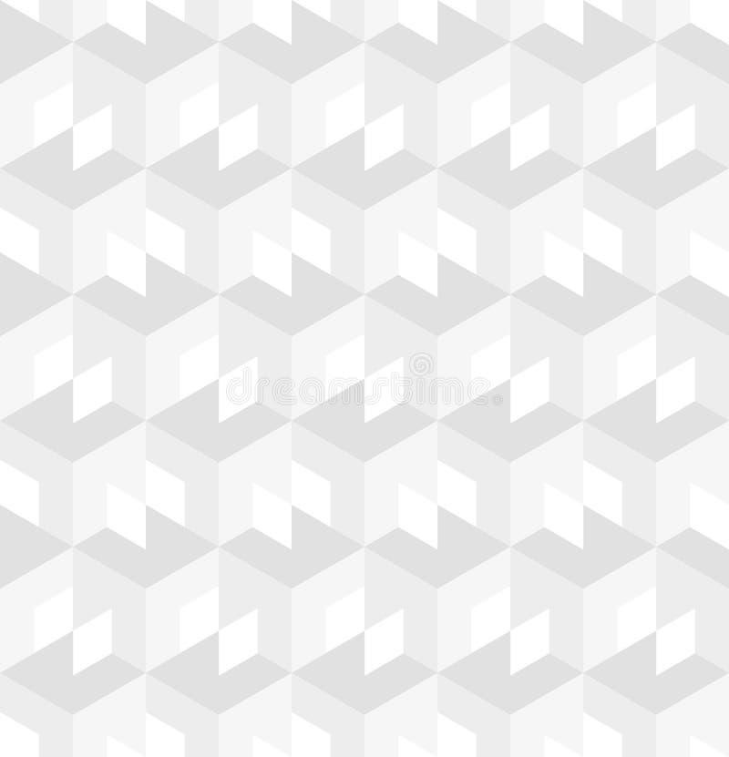Weißes Beschaffenheitsmuster lizenzfreie abbildung