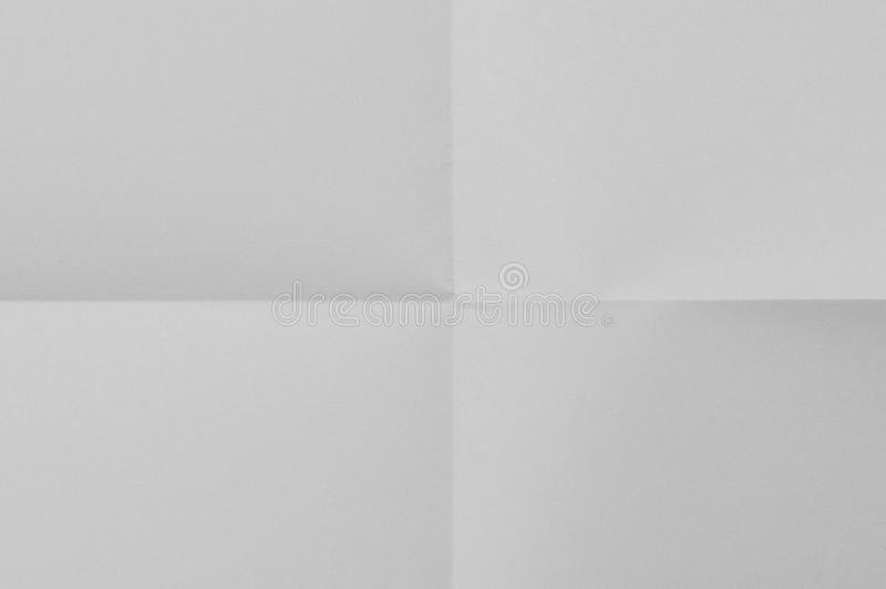 Weißes Blatt Papier lizenzfreie stockfotografie