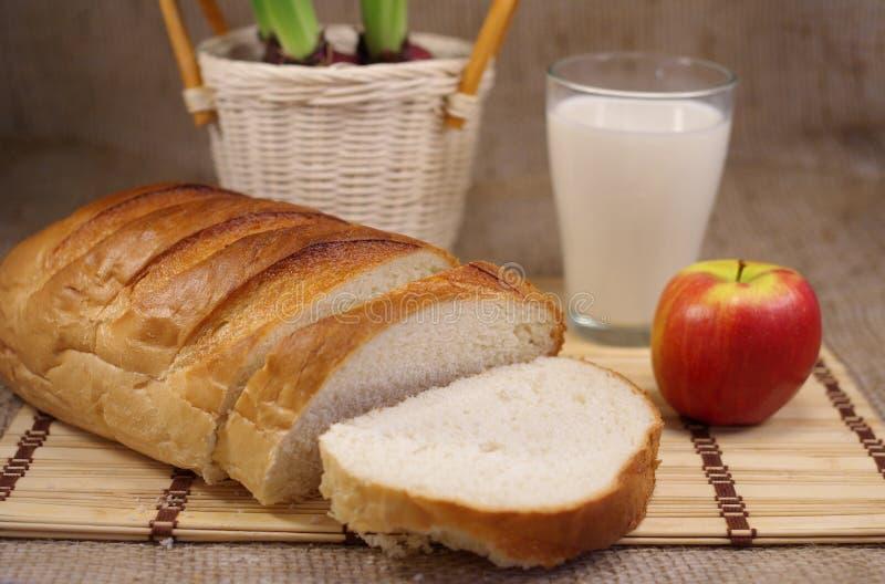 Weißes Brot stockbild