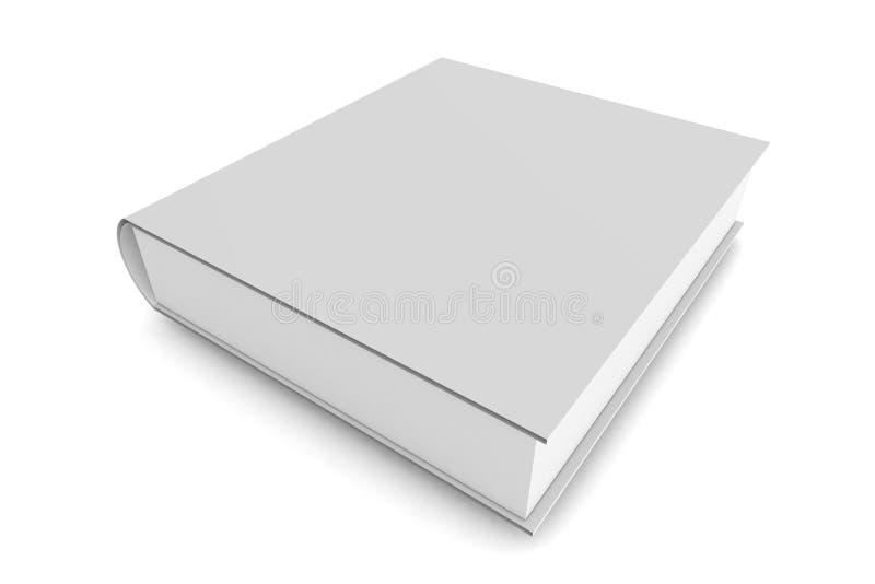 Weißes Buch lizenzfreie abbildung