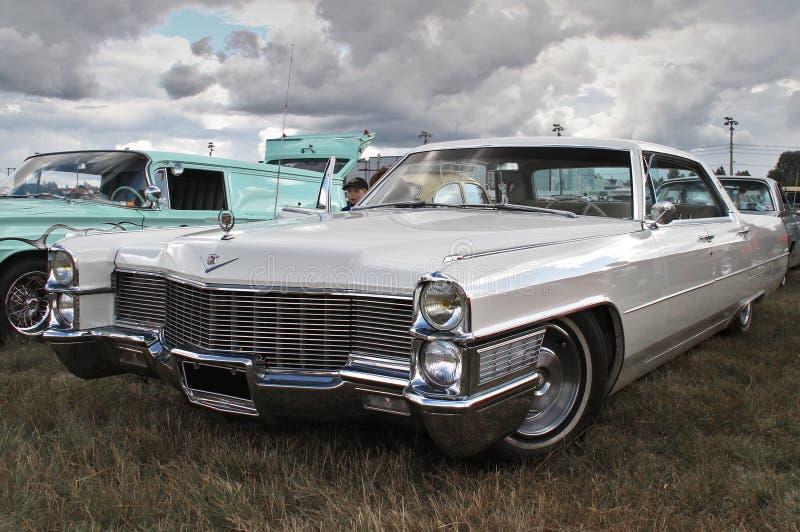 Weißes Cadillac stockbilder