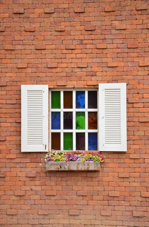 Weißes Fenster stockfotografie
