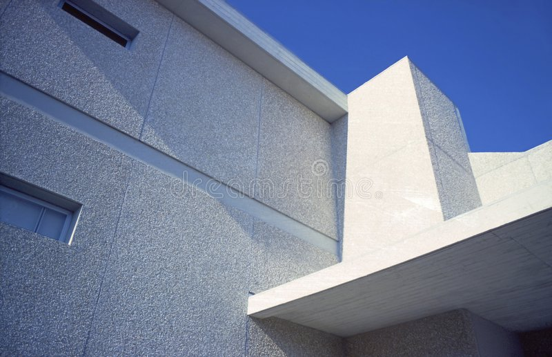 Weißes Gebäude stockfotos