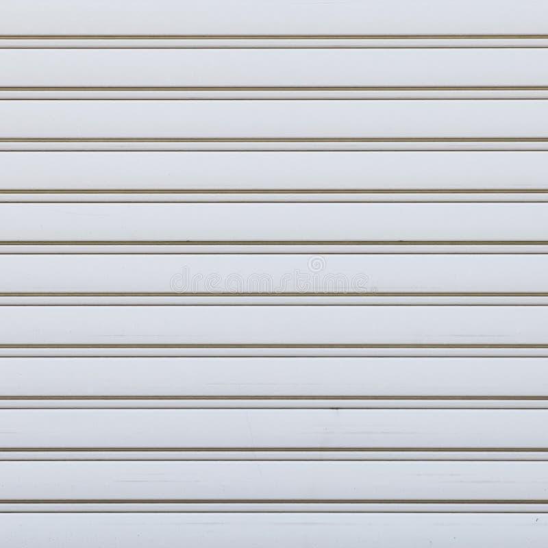 Weißes gewölbtes Metall lizenzfreie stockfotografie