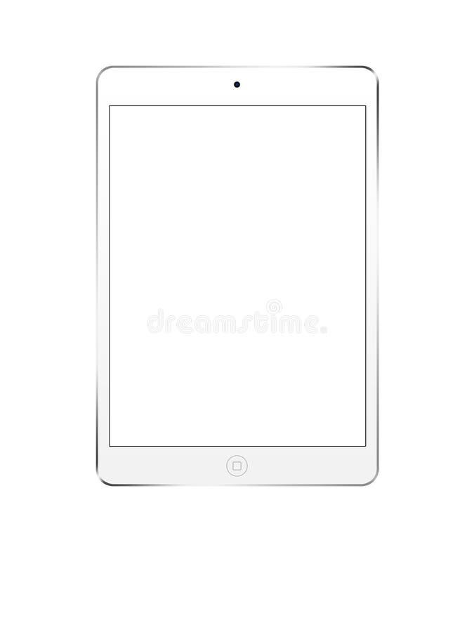 Weißes ipad Mini4 lizenzfreies stockbild