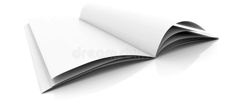 Weißes Journal vektor abbildung
