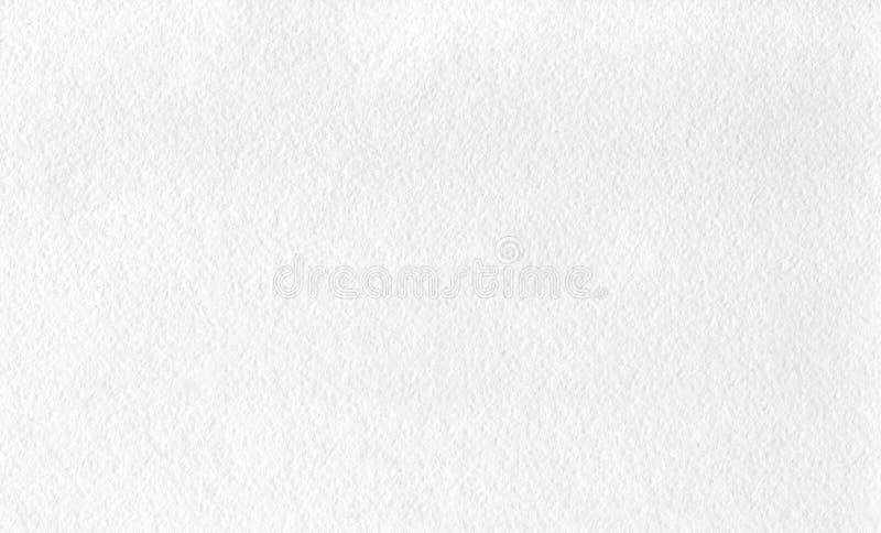 Weißes körniges strukturiertes Aquarellpapier stockfotos