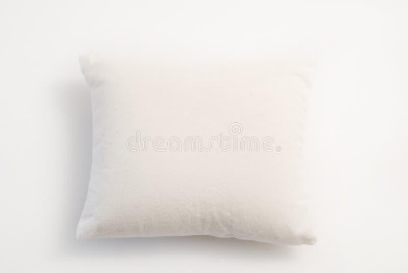 Weißes Kissen stockfoto
