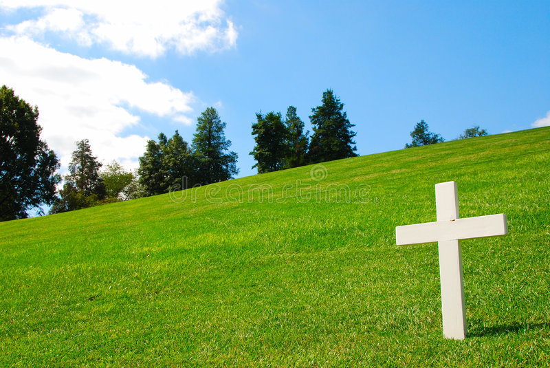 Weißes Kreuz Stockbilder