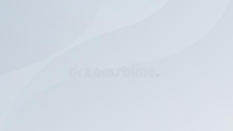 Weißes Steigungszusammenfassungs-Kurvenmuster auf grauem Hintergrund stockbild