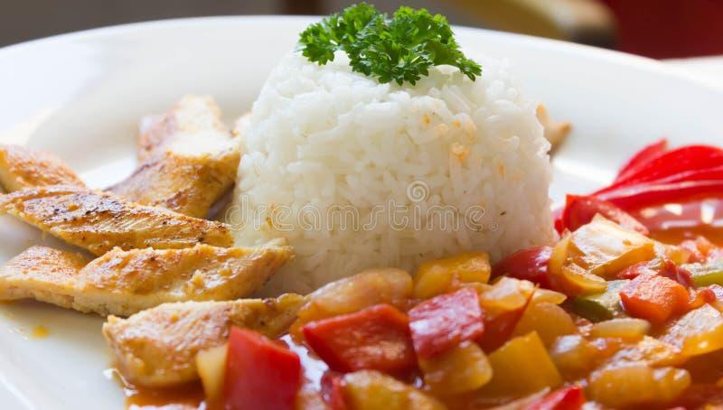 Weißes Treffung Reis lizenzfreie stockfotografie