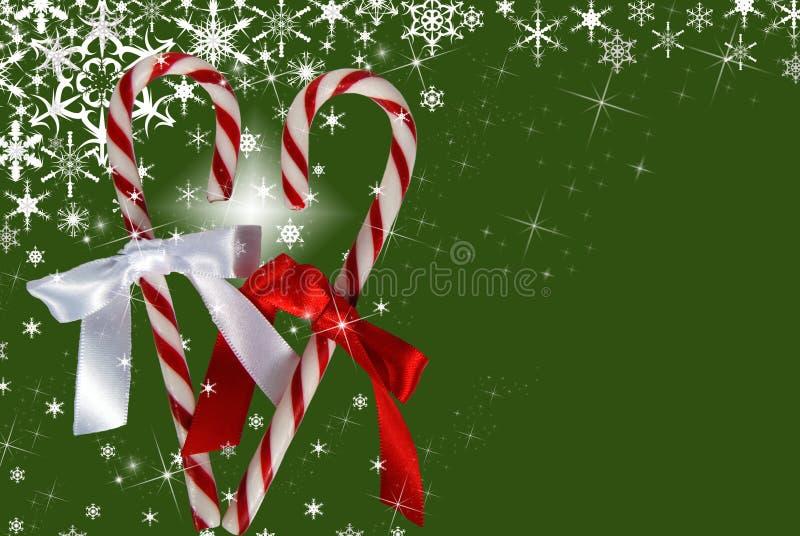Weißes Weihnachten stock abbildung