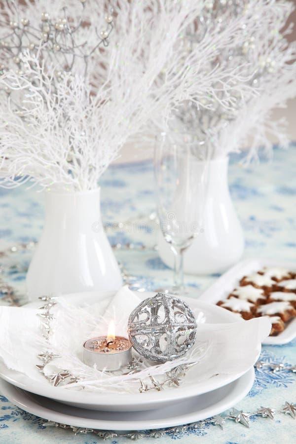 Weißes Weihnachten lizenzfreies stockfoto