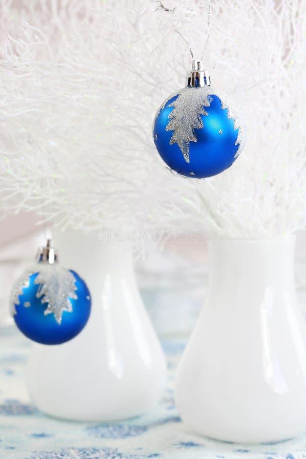 Weißes Weihnachten lizenzfreie stockfotos