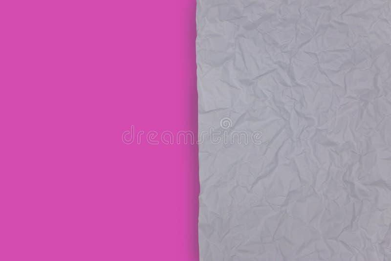 weißes zerknittert und rosa stockfotos
