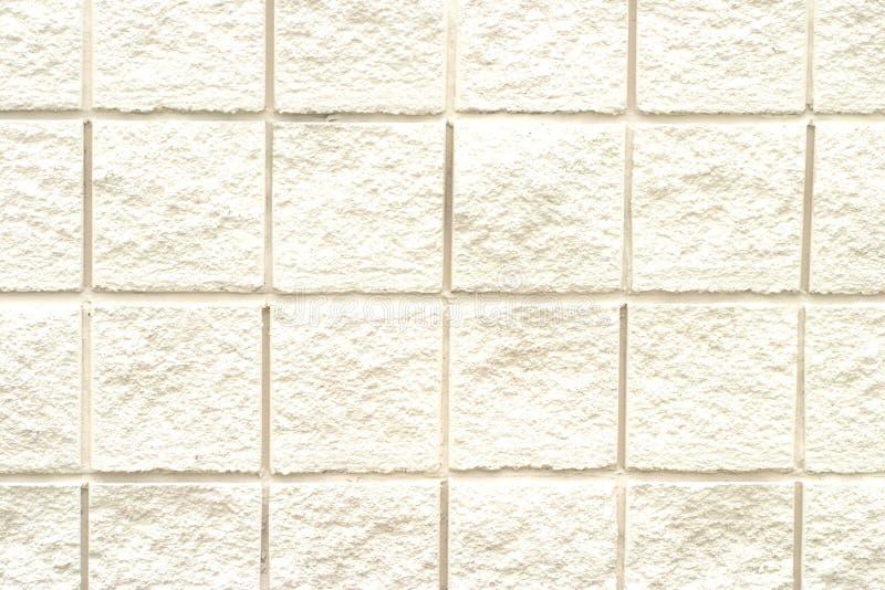 Weißes Ziegelstein-Muster Stockfotos