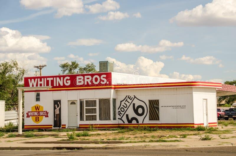 Weißfische Bros in Tucumcari lizenzfreies stockfoto