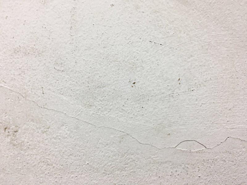 Weißzementwand lizenzfreies stockbild