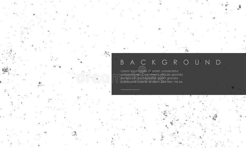 Weiße Schmutzvektor-Hintergrundbeschaffenheit lizenzfreie abbildung