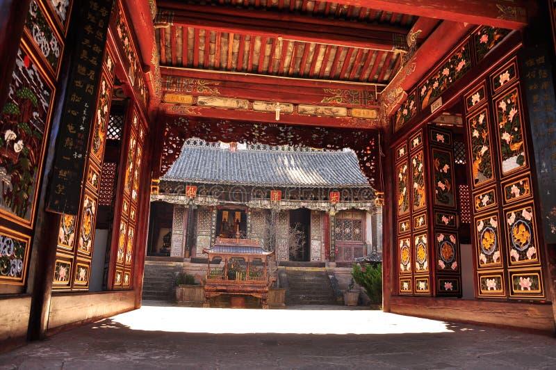 Wei Bao Shan, Yunnan, China Stock Photo