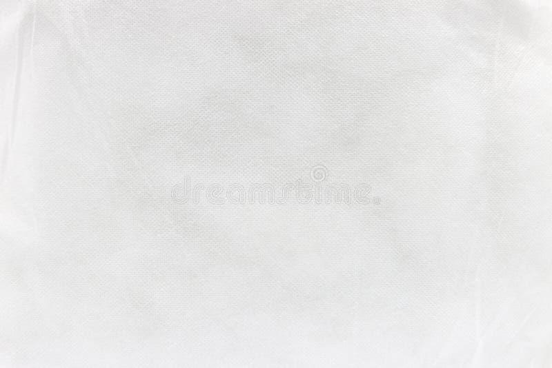 Wei?er Gewebebeschaffenheitshintergrund lizenzfreie stockbilder