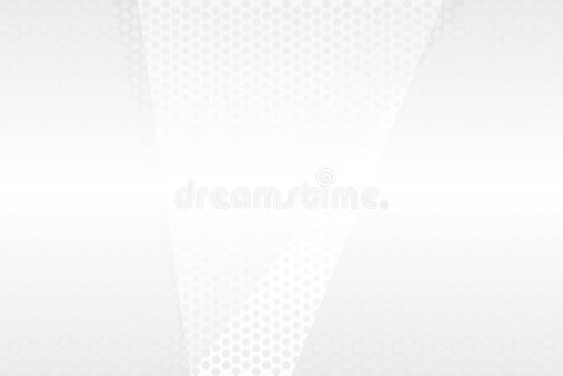 Wei?er Hintergrund Abstrakter Hintergrund mit Exemplarplatz f?r Text lizenzfreie abbildung