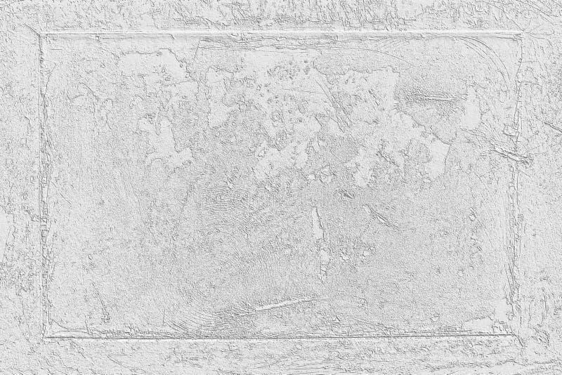 Wei?zementwand-Musterentwurf f?r Hintergrund und Beschaffenheit stockfotos