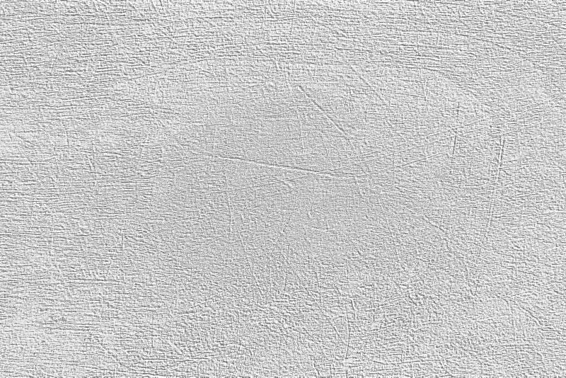 Wei?zementwand-Musterentwurf f?r Hintergrund und Beschaffenheit stockfoto