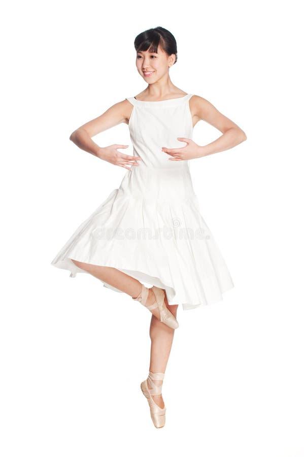 Weibliche Ballerina stockfoto