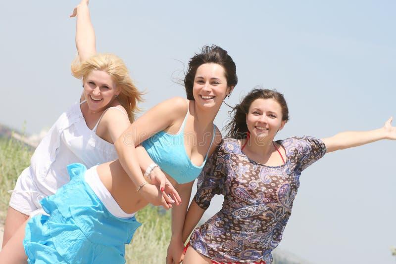 Weibliche Freunde stockfoto