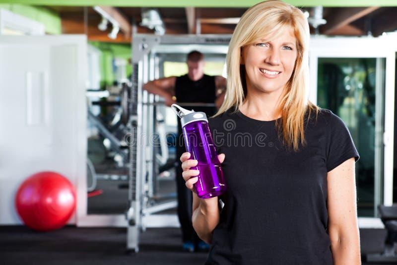 Weiblicher Athlet stockbilder