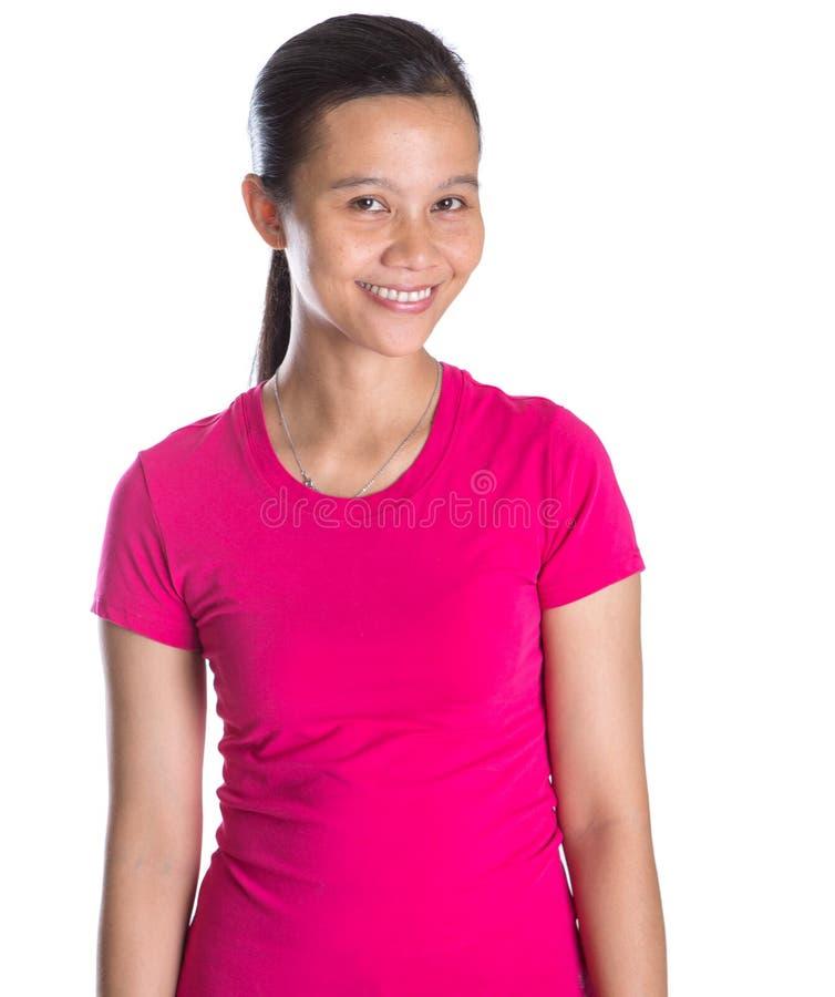 Weiblicher Athlet In Sports Attire V stockfotos