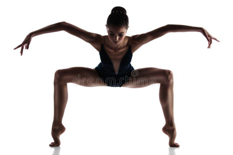 Weiblicher Balletttänzer lizenzfreie stockfotos