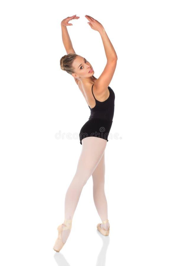 Weiblicher Balletttänzer stockbild