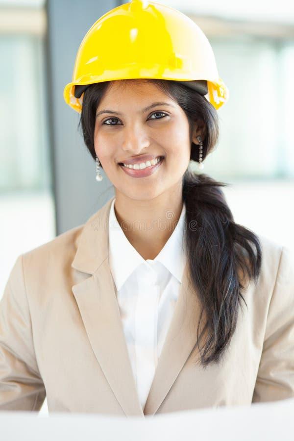 Download Weiblicher Bauarbeiter stockfoto. Bild von hart, businesspeople - 26366996