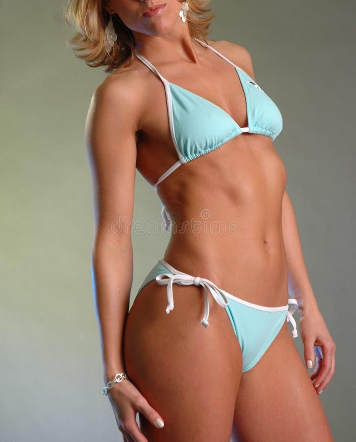 Weiblicher Bikini 2 lizenzfreie stockbilder