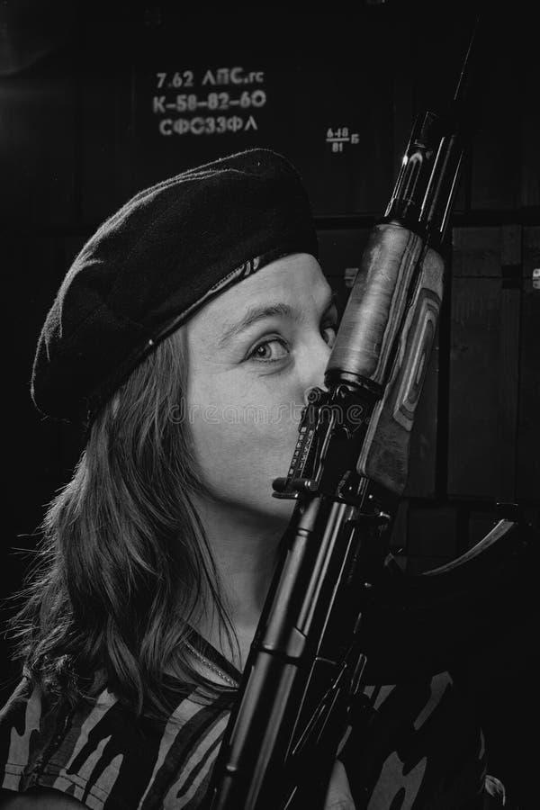 Weiblicher Che Guevara stockfotografie
