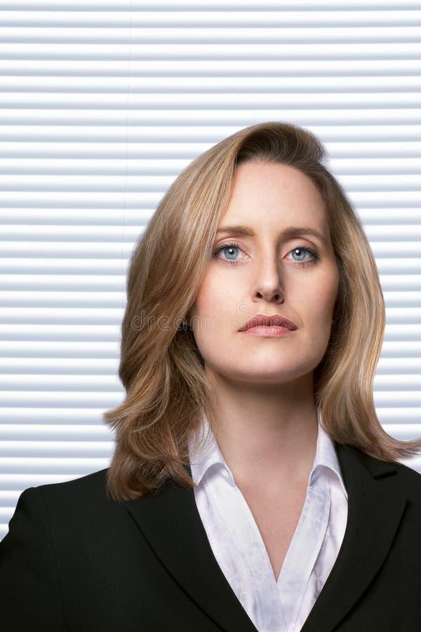 Weiblicher Detektiv lizenzfreies stockfoto