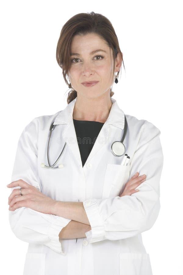 Weiblicher Doktor lizenzfreies stockfoto