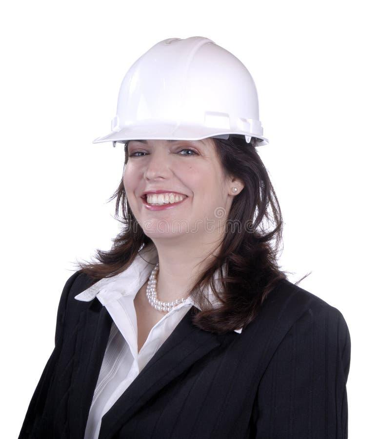 Weiblicher Ingenieur stockbilder