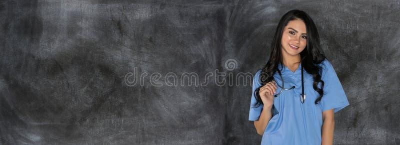 Weiblicher Krankenpflegestudent lizenzfreie stockbilder