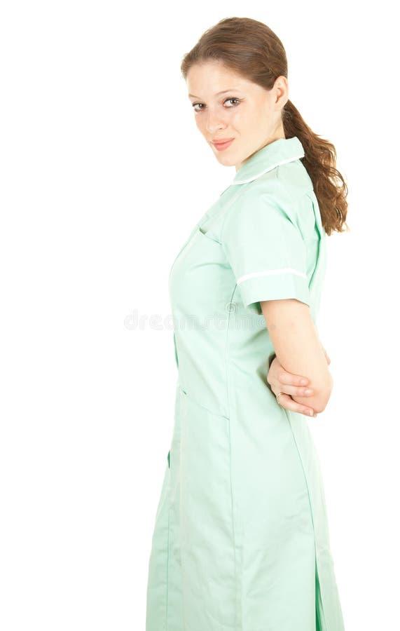 Weiblicher medizinischer Gesundheitspflegedoktor stockfoto