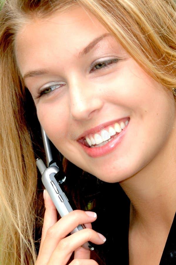 Weiblicher Schönheitsausdruck draußen lizenzfreie stockbilder
