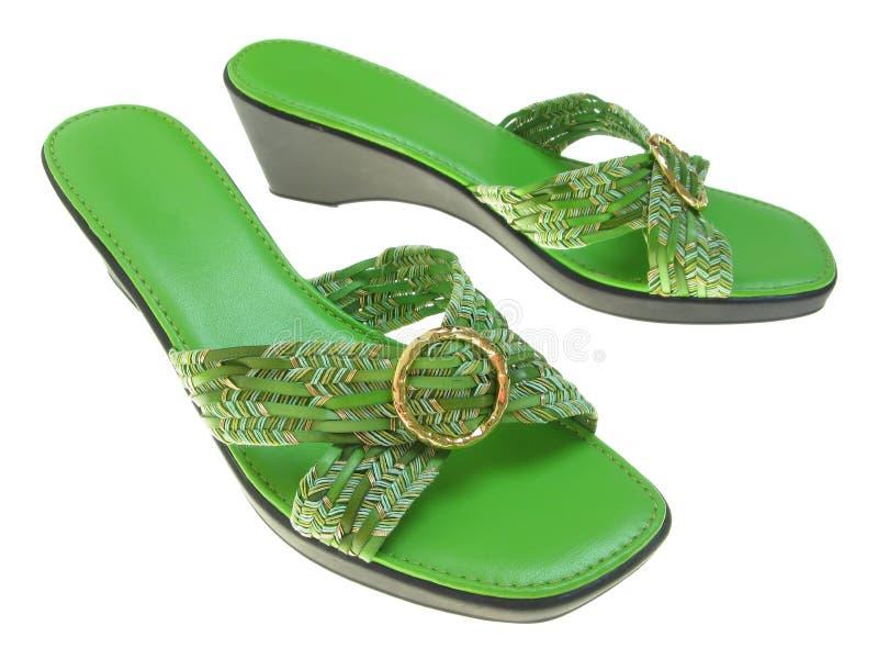 Weiblicher Schuh stockbild