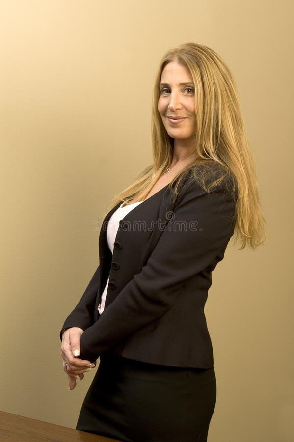 Weibliches Executivgeschäft stockfotos